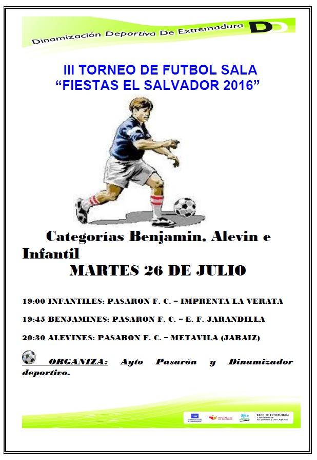 TorneoFutbolSala2016