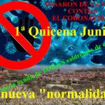 Pasarón contra el coronavirus. 1ª quincena de Junio