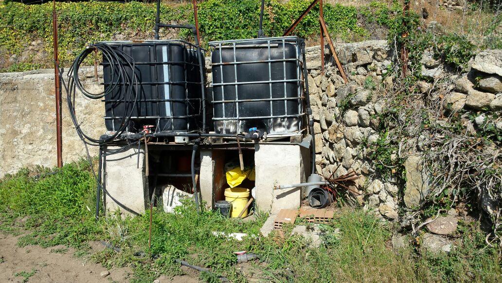 Depositos elevados de riego a presión y goteo