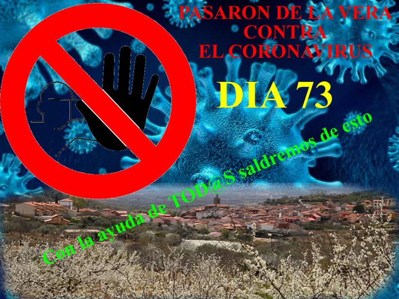 Pasarón contra el coronavirus. Día 73- Fotos y vídeos del día.
