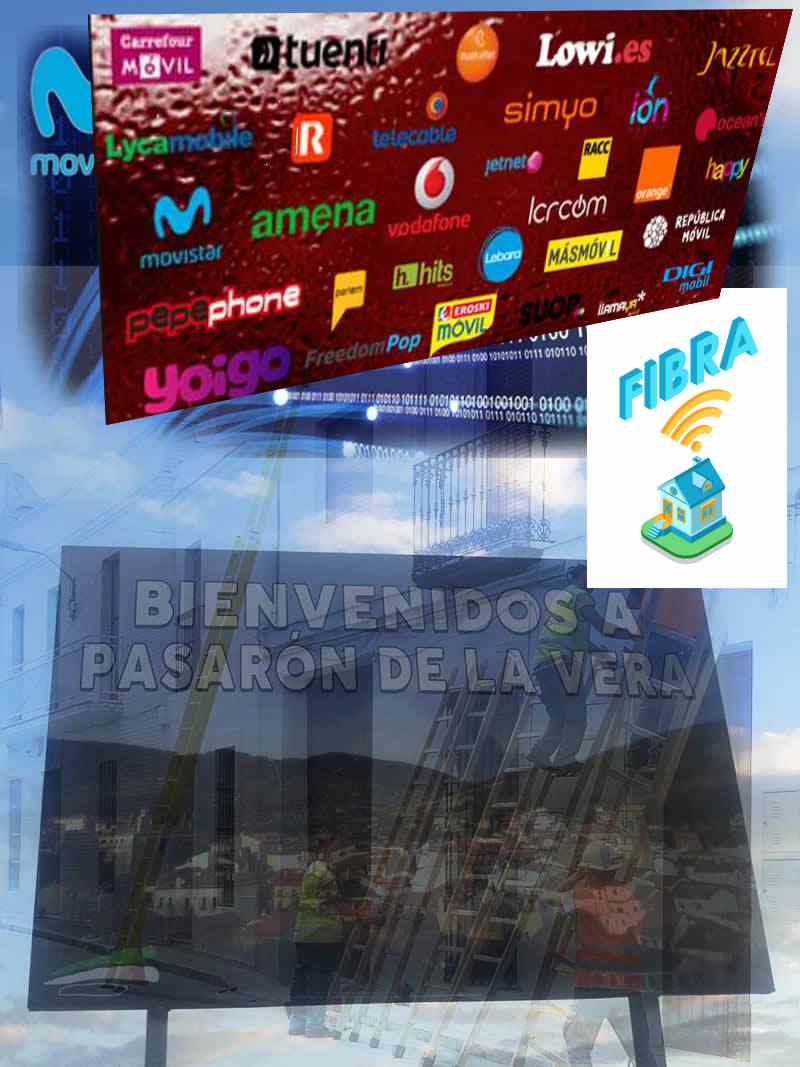 Iniciativa popular para la instalación de la fibra óptica en Pasarón de la Vera.